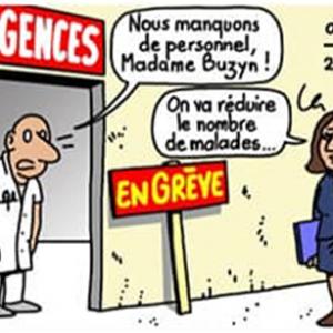 > LE PERSONNEL DES URGENCES AVEC LA CGT APPELLENT A LA GRÉVE RECONDUCTIBLE