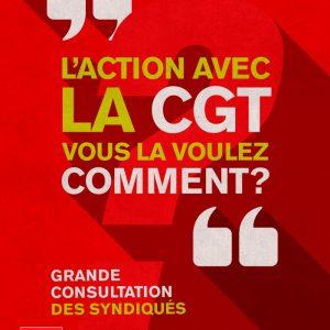 > L' ACTION AVEC LA CGT – VOUS LA VOULEZ COMMENT ?