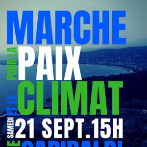 > MARCHE POUR LA PAIX ET LE CLIMAT