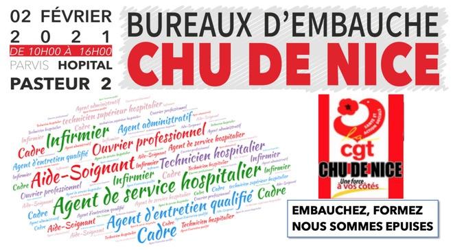 > 2 FÉVRIER – BUREAU D'EMBAUCHE